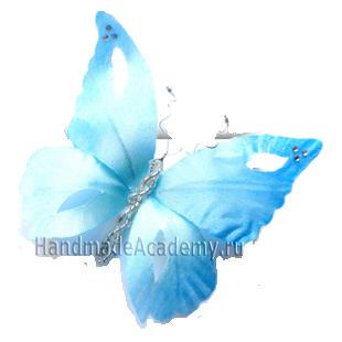 Как сделать подарок на день рождения Мастер-класс: Как изготовить бабочку из ткани своими руками
