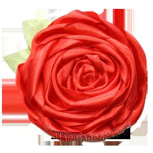 Цветы мастер-класс: Как сделать розу из шелковых лент, мк, вышивка, выкройки