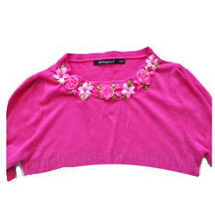 Цветы из ткани своими руками мастер-класс: Как декорировать вышивать шелковыми лентами на одежде