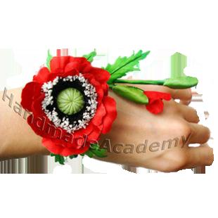 Цветы из ткани своими руками мастер-класс: Как изготовить мак из ткани своими руками, мк, выкройки