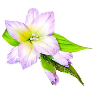 Цветы из ткани Видео мастер-классы: Как изготовить цветок Гладиолус из ткани своими руками, мк, выкройки