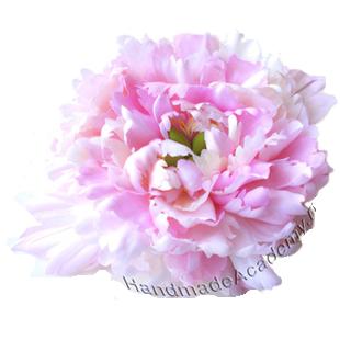Цветы из ткани Видео мастер-класс: Как изготовить Пион из ткани своими руками, мк, выкройки