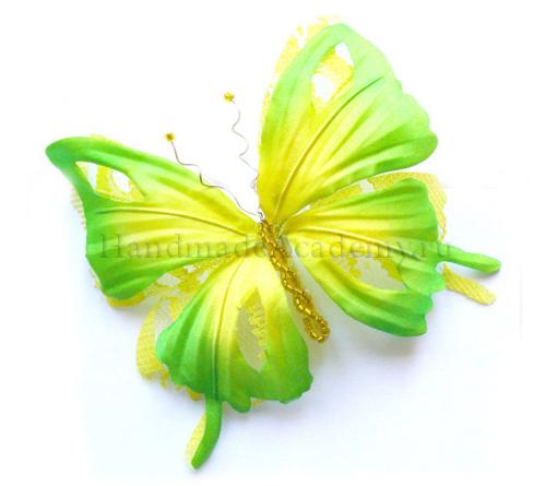 --> Цветы из ткани: ТРОПИЧЕСКИЙ КУРС!