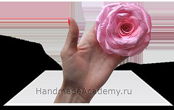 Розы из цветов своими руками