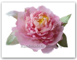 Сделать розу из ткани своими руками фото